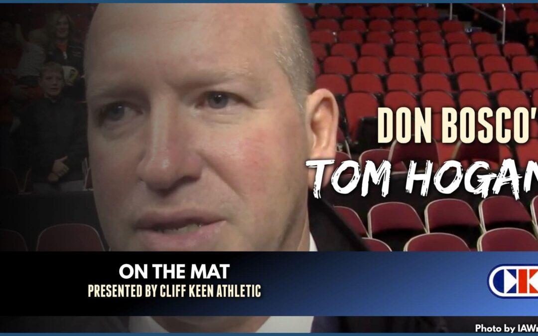 Don Bosco head coach Tom Hogan goes On The Mat – OTM628
