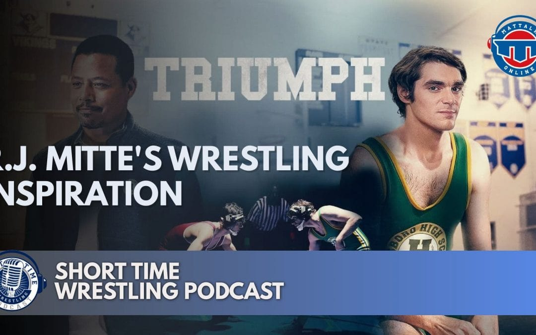 R.J. Mitte finds his wrestling inspiration in new movie Triumph