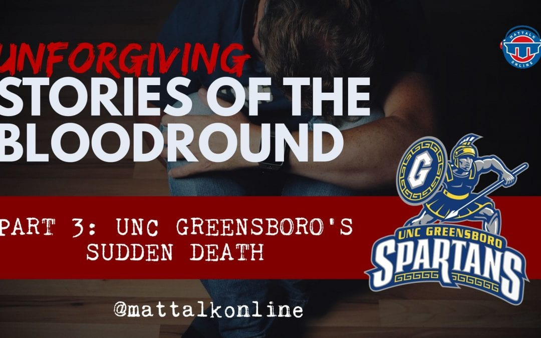 Unforgiving: The sudden death of a program comes in the bloodround