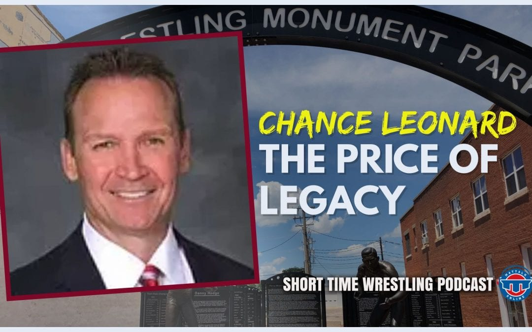 Chance Leonard and his documentary film, The Price of Legacy