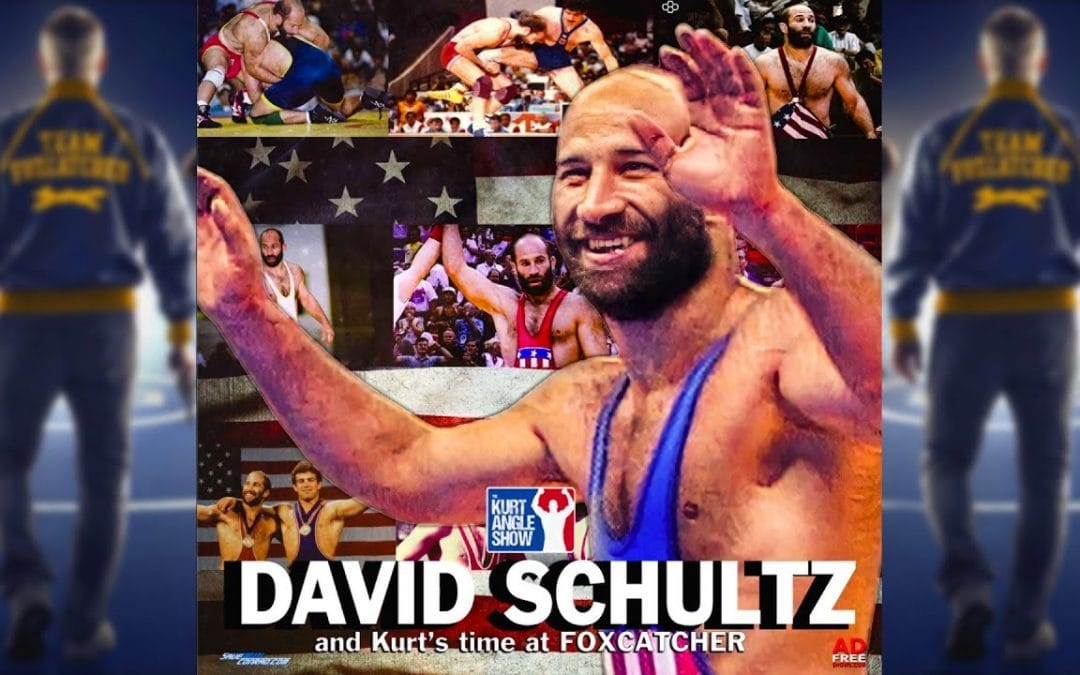 SPECIAL: The Kurt Angle Show Ep. 18 – Dave Schultz and Kurt's time with Foxcatcher