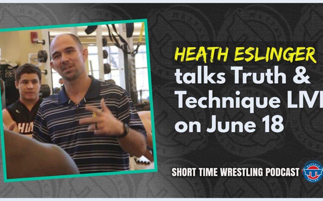 FCA Wrestling's Heath Eslinger talks the Truth & Technique Live event coming June 18