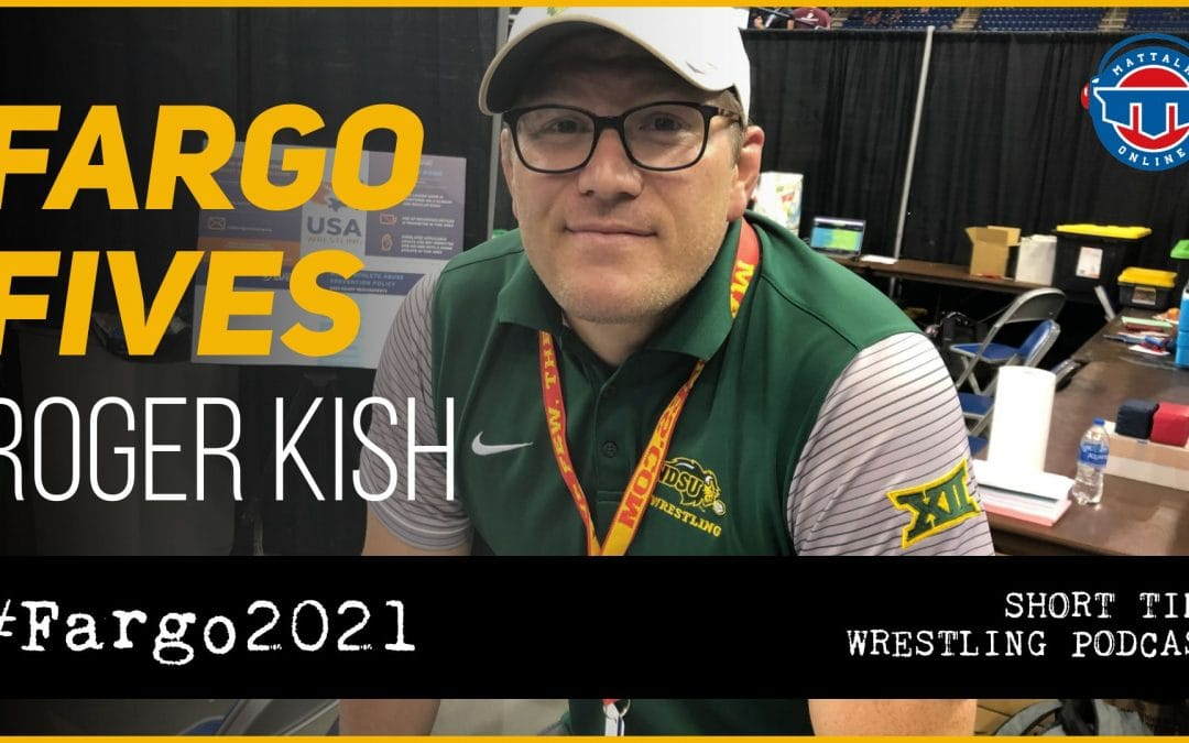 Fargo Fives: North Dakota State head coach Roger Kish