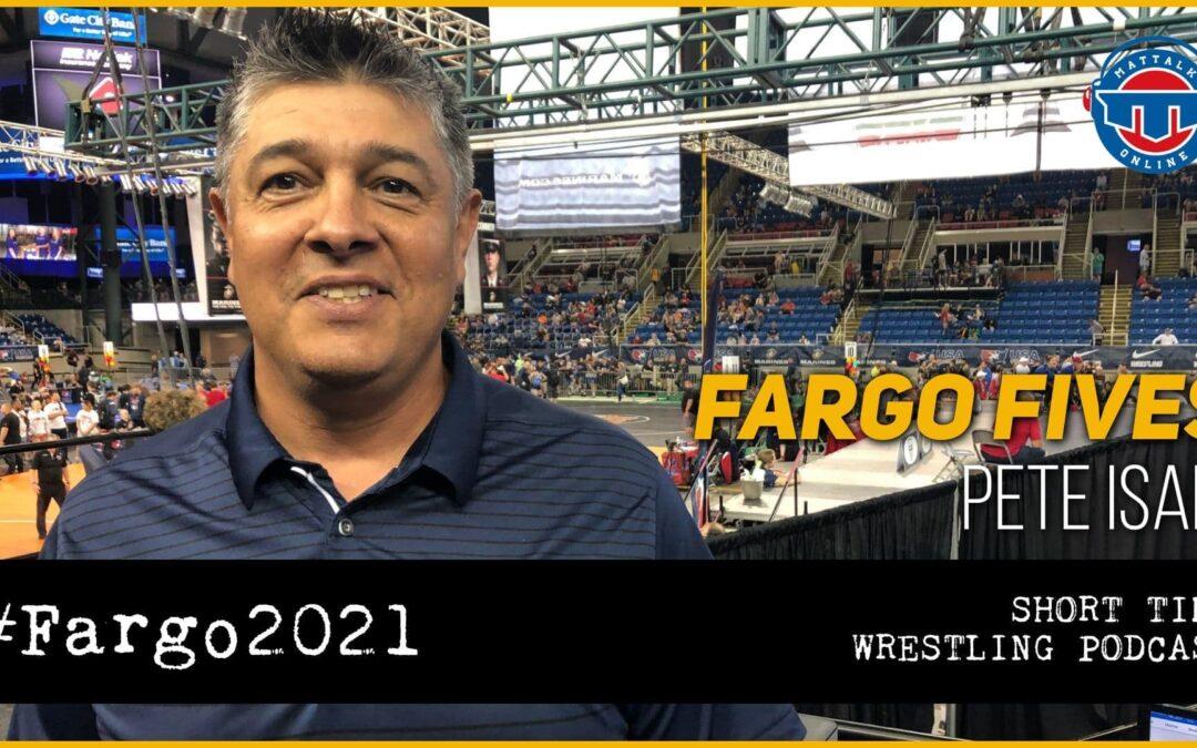 Fargo Fives: USA Wrestling Events Director Pete Isais