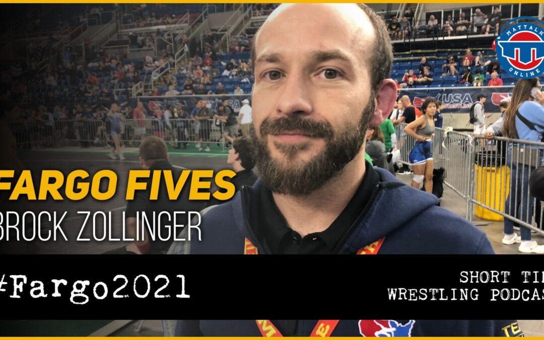 Fargo Fives: Idaho official Brock Zollinger