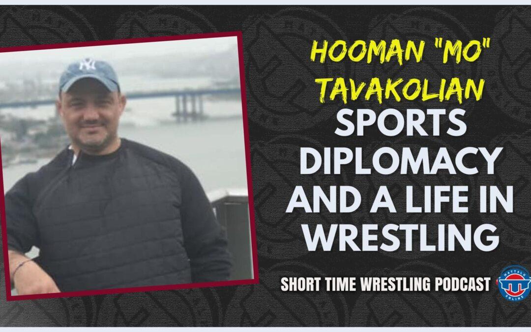 "Iranian American Hooman ""Mo"" Tavakolian's hope in wrestling, diplomacy and humanitarian efforts"