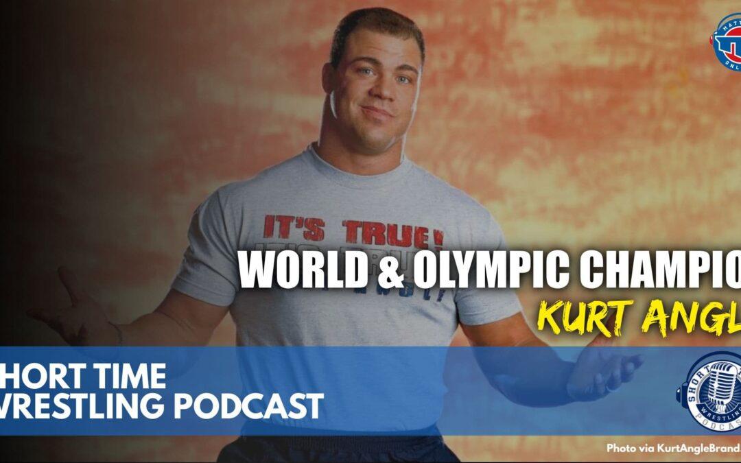 World & Olympic champion Kurt Angle talks history, Gable Steveson and the Olympics