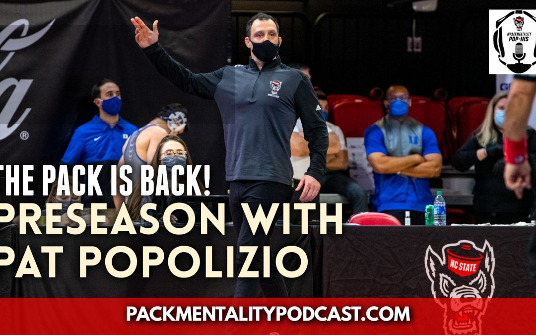 Picking up the preseason chatter with Pat Popolizio – NCS82