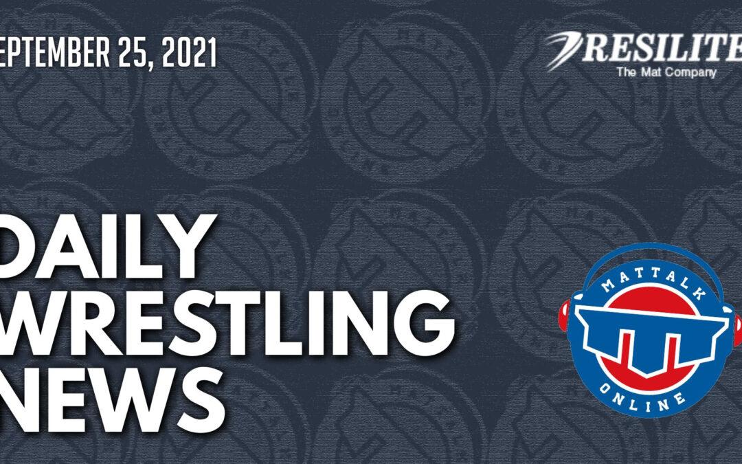 Daily Wrestling News for September 25, 2021