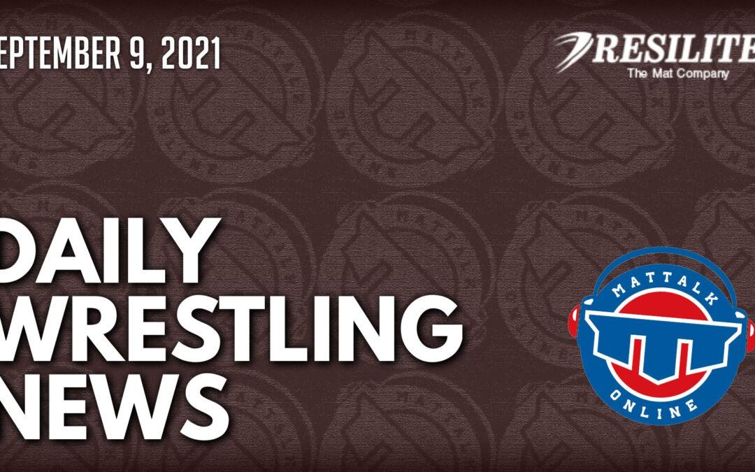 Daily Wrestling News for September 9, 2021